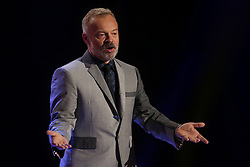 Graham Norton during the filming of The Graham Norton Show at the London Studios in London, to be aired on BBC1 on Friday evening.