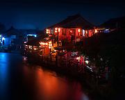 Dusk in Xitang, Zhejiang, China