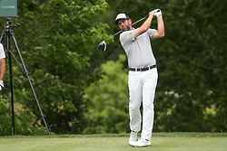 May 25, 2019 - Fort Worth, TX, U.S. - FORT WORTH, TX - MAY 25: Josh Teater hits from the 6th tee during the third round of the Charles Schwab Challenge on May 25, 2019 at Colonial Country Club in Fort Worth, TX. (Photo by George Walker/Icon Sportswire) (Credit Image: © George Walker/Icon SMI via ZUMA Press)