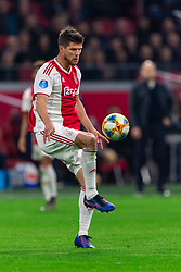 13-03-2019 NED: Ajax - PEC Zwolle, Amsterdam<br /> Ajax has booked an oppressive victory over PEC Zwolle without entertaining the public 2-1 / Klaas Jan Huntelaar #9 of Ajax