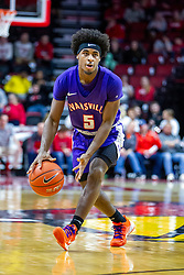 NORMAL, IL - January 29: Shamar Givance during a college basketball game between the ISU Redbirds and the University of Evansville Purple Aces on January 29 2020 at Redbird Arena in Normal, IL. (Photo by Alan Look)