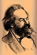 Karl Heinrich Marx (5 May 1818 – 14 March 1883) was a German philosopher, sociologist, economic historian, journalist, and revolutionary socialist. 1852