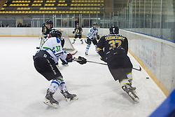 Sodrznik #37 of HK Playboy Slavija during ice hockey match between HK Playboy Slavija and HDD Telemach Olimpija in semi-final of Slovenian Cup, on November 10, 2015  in Ledena Dvorana Zalog, Ljubljana, Slovenia. Photo by Urban Urbanc / Sportida