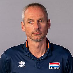 Ass. coach Henk-Jan Held of Netherlands, Photoshoot selection of Orange men's volleybal team season 2021on may 11, 2021 in Arnhem, Netherlands (Photo by RHF Agency/Ronald Hoogendoorn)