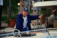 Isla Morada, FL 1989/05/07 President H.W. Bush on a fishing trip.<br />Photo by Dennis Brack