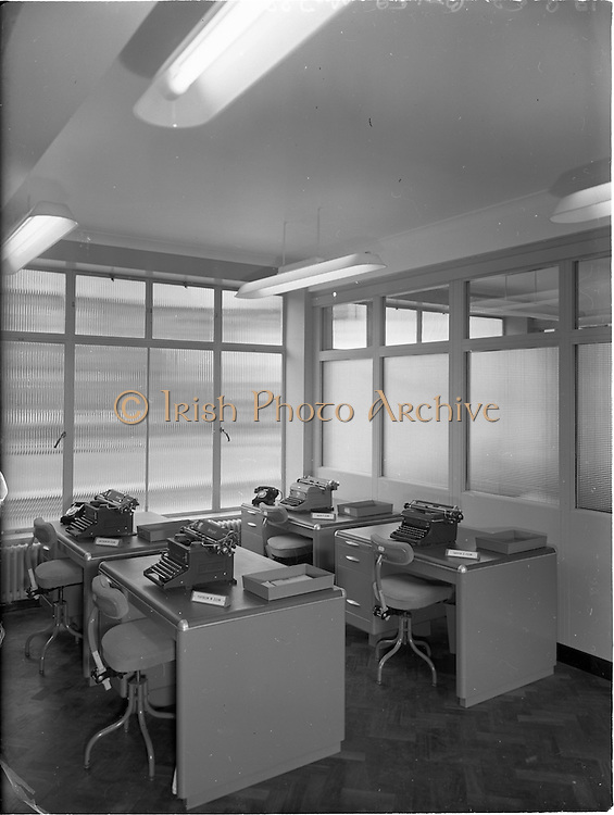 23/9/1952<br /> 9/23/1952<br /> 23 September 1952<br /> <br /> Photos of the National Cash Register offices and employees