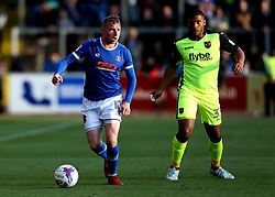 Nicky Adams of Carlisle United runs with the ball - Mandatory by-line: Robbie Stephenson/JMP - 14/05/2017 - FOOTBALL - Brunton Park - Carlisle, England - Carlisle United v Exeter City - Sky Bet League Two Play-off Semi-Final 1st Leg