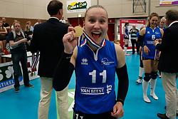 20180509 NED: Eredivisie Coolen Alterno - Sliedrecht Sport, Apeldoorn<br />Ana Rekar (11) of Sliedrecht Sport <br />©2018-FotoHoogendoorn.nl