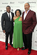 14 June 2010- Harlem, New York- l to r: Chris Tucker, Jonelle Procope and Richard Parsons at The Apollo Theater's 2010 Spring Benefit and Awards Ceremony hosted by Jamie Foxx inducting Aretha Frankilin and Michael Jackson, and honoring Jennifer Lopez and Marc Anthony co- sponsored by Moet et Chandon which was held at the Apollo Theater on June 14, 2010 in Harlem, NYC. Photo Credit: Terrence Jennngs/Sipa