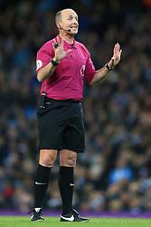 3rd December 2017 - Premier League - Manchester City v West Ham United - Referee Mike Dean - Photo: Simon Stacpoole / Offside.