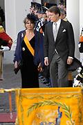 Prinsjesdag 2007 in The Hague. <br /> <br /> On the Photo: Prinses Laurentien en Prins Constantijn