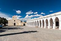 CACHI, IGLESIA SAN JOSE Y MUSEO ARQUEOLOGICO PIO PABLO DIAZ, VALLES CALCHAQUIES, PROV. DE SALTA, ARGENTINA