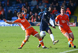 September 30, 2017 - Southend, England, United Kingdom - Theo Robinson of Southend United.during Sky Bet League one match between Southend United against Blackpool at  Roots Hall,  Southend on Sea England on 30 Sept  2017  (Credit Image: © Kieran Galvin/NurPhoto via ZUMA Press)