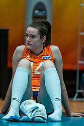 Nicole van de Vosse of Netherlands after semi final Netherlands - Serbia, FIVB U20 Women's World Championship on July 17, 2021 in Rotterdam