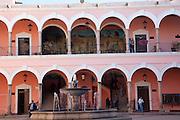 The Municipal Plaza, El Fuerte, Sinaloa, Mexico
