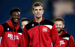Aden Flint of Bristol City poses for a picture on arrival at Elland Road for the Sky Bet Championship fixture with Leeds United - Mandatory by-line: Robbie Stephenson/JMP - 14/02/2017 - FOOTBALL - Elland Road - Leeds, England - Leeds United v Bristol City - Sky Bet Championship