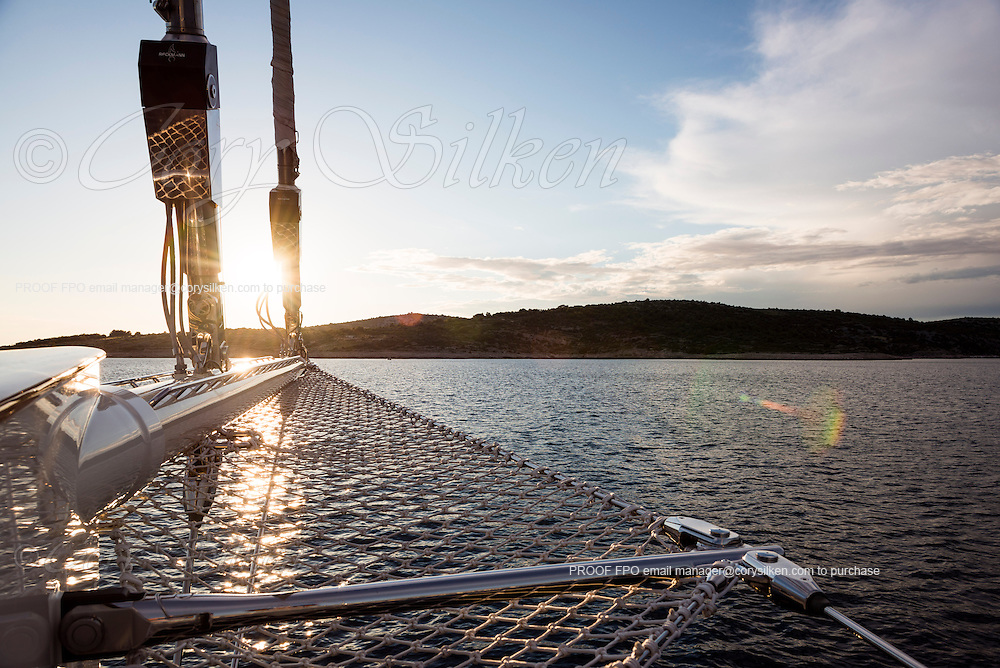 Kamaxitha at anchor.