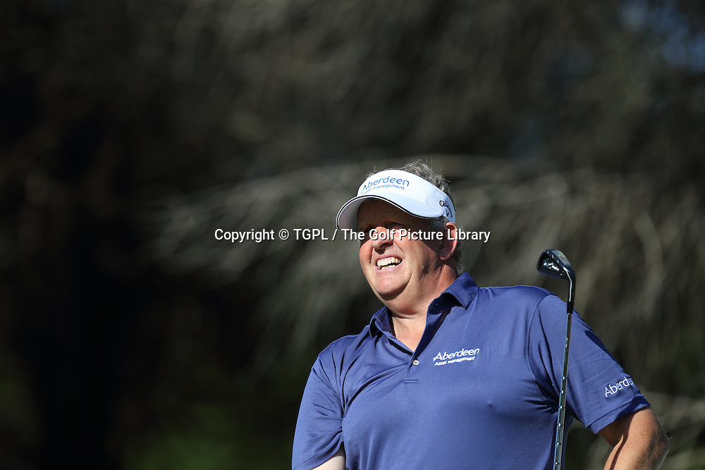 Colin MONTGOMERIE (SCO) during second round Turkish Airlines Open by Ministry of Culture and Tourism 2013,Montgomerie Course at Maxx Royal,Belek,Antalya,Turkey.