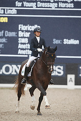 Lindh Camilla, SWE, Klifton 1329<br /> Longines FEI/WBFSH World Breeding Dressage Championships for Young Horses - Ermelo 2017<br /> © Hippo Foto - Dirk Caremans<br /> 03/08/2017