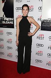 Meghann Fahy bei der Premiere von Miss Sloane in Los Angeles<br /> <br /> / 111116<br /> <br /> <br /> ***Premiere von Miss Sloane in Los Angeles on november 11, 2016***