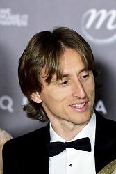 December 3, 2018 - Paris, France, France - Luka Modric et sa femme Vinja (Credit Image: © Panoramic via ZUMA Press)