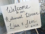 Lisa V rehearsal dinner