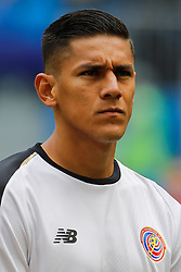 June 22, 2018 - Saint Petersburg, Russia - Celso Borges of Costa Rica national team during the 2018 FIFA World Cup Russia group E match between Brazil and Costa Rica on June 22, 2018 at Saint Petersburg Stadium in Saint Petersburg, Russia. (Credit Image: © Mike Kireev/NurPhoto via ZUMA Press)