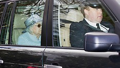 The Queen is joined by Harry and Meghan at Sunday Church - 7 March 2020