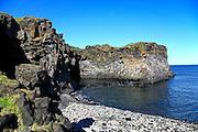 Iceland, snaefellsnes peninsula, breioavik bay