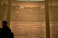 Display of Ground Zero at the Hiroshima Peace Museum. Image 5 of 19 taken with a Fuji X-T1 camera and 23 mm f/1.4 lens (ISO 800, 23 mm, f/1.4, 1/30 sec).