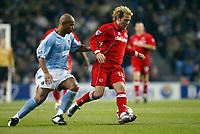 Fotball, 30. november 2003, Premier League, Manchester City - Middlesbrough 0-1,   Trevor Sinclair, Manchester City og Gaizka Mendieta, Middlesbrough