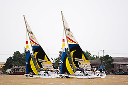 2008 Monsoon Cup. Peter Gilmour leading Adam Minoprio in the final (Sunday the 7th December 2008). .
