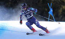 27.01.2018, Lenzerheide, SUI, FIS Weltcup Ski Alpin, Lenzerheide, Riesenslalom, Damen, im Bild Asa Ando (JPN) // Asa Ando of Japan in action during the ladie's Giant Slalom of FIS ski alpine world cup in Lenzerheide, Austria on 2018/01/27. EXPA Pictures © 2018, PhotoCredit: EXPA/ Sammy Minkoff<br /> <br /> *****ATTENTION - OUT of GER*****