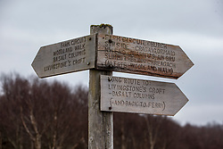 Signs on the island. Feature on the community on the island of Ulva, who have been awarded £4.4m in funding for their island buyout.