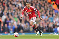 Jesse Lingard of Manchester United in action. Barclays Premier league match, Tottenham Hotspur v Manchester Utd at White Hart Lane in London on Sunday 10th April 2016.<br /> pic by John Patrick Fletcher, Andrew Orchard sports photography.