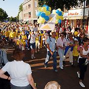 Intocht Avondvierdaagse Groest Hilversum