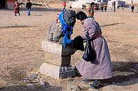 Mongolie, province de Ovorkhangai, vallée Orkhon classée Patrimoine Mondial de l'UNESCO, Kharkhorin, monastère Erdene Zuu // Mongolia, Ovorkhangai, Kharkhorin, Erdene Zuu Monastery, Orkhon valley, Unesco world heritage