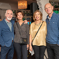 REPRO FREE<br /> Pictured at the opening of the 43rd Kinsale Gourmet Festival at the Blue Haven were John and Karen Farnan with Barbara and Mark Carlisle from Hillsborough.<br /> Picture. John Allen