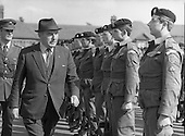 1983 -  Defence Minister Patrick Cooney Reviews Troops