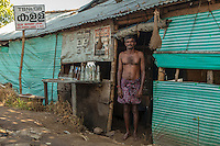 A man and his toddy shack