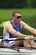 2002 FISA World Cup. Hazewinkel. BEL.       Friday  14/06/2002     .email images@Intersport-images.com.[Mandatory Credit: Peter Spurrier/Intersport Images]  .                                 /06/2002.Rowing    .GBR M2-.  Matthew PINSENT Rowing, FISA WC.Hazenwinkel, BEL