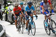 Richard Carapaz (ECU - Movistar) during the 101th Tour of Italy, Giro d'Italia 2018, stage 15, Tolmezzo - Sappada 178 km on May 20, 2018 in Italy - Photo Luca Bettini / BettiniPhoto / ProSportsImages / DPPI