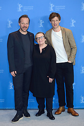 Peter Sarsgaard, Agnieszka Holland and James Norton attending the Mr. Jones Photocall as part of the 69th Berlin International Film Festival (Berlinale) in Berlin, Germany on February 10, 2019. Photo by Aurore Marechal/ABACAPRESS.COM