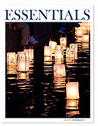 Upon Reflection: Greenlake sparkles and soothes during the annual lantern ceremony.