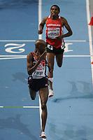 ATHLETICS - INDOOR EUROPEAN CHAMPIONSHIPS PARIS-BERCY 2011 - FRANCE - DAY 2 - 05/03/2011 - PHOTO : PHILIPPE MILLEREAU / DPPI - <br /> MEN'S 3000 M - FINALE - GOLD MEDAL - FARAH MO (GBR)