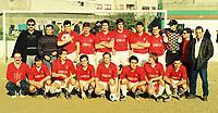 UNDATED: PORTO, PORTUGAL - Chelsea coach Andre Villas-Boas during his times as amateur football player. In picture: Andre Villas-Boas (back row, 4rd L) at Clube Marechal Gomes da Costa, season 1998/1999. PHOTO: Pedro Pereira/CITYFILES