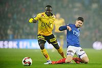Fotball , Tippeligaen , Eliteserien<br /> 30.10.16 , 20161030<br /> Vålerenga - Lillestrøm<br /> Daniel Fredheim Holm - VIF<br /> Bonke Innocent - LSK<br /> Foto: Sjur Stølen / Digitalsport