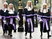 Judges Procession from Westminster Abbey, London, England, United Kingdom