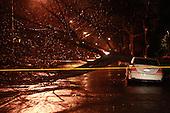 Rain Storm hits New York City on March 13, 2010
