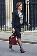 © Licensed to London News Pictures. 05/03/2013. Westminster, UK Culture Secretary Maria Miller. Ministers after a Cabinet Meeting at number 10 Downing Street on 5th March 2013. Photo credit : Stephen Simpson/LNP